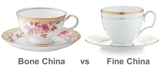 NORITAKE: Difference Between Bone China And Fine China