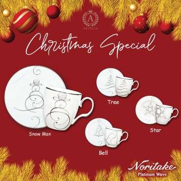 Christmas Special Noritake Platinum Wave