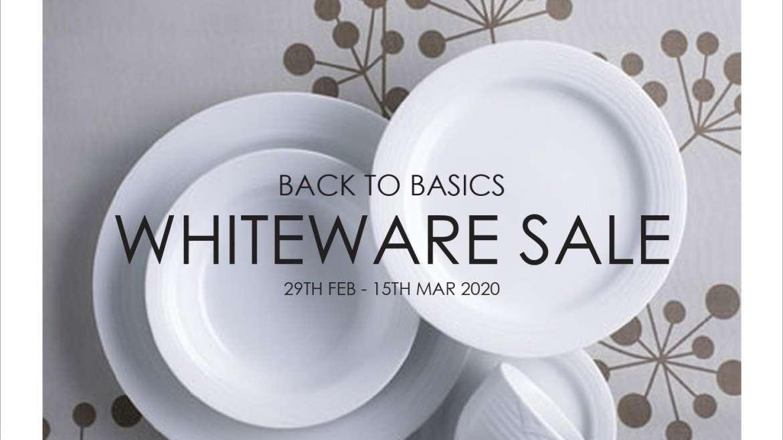 Whiteware Sale 2020