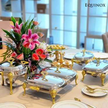 Equinox Food Warmer Stainless Steel